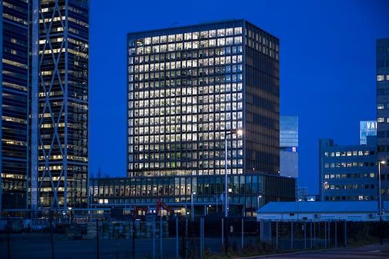 Exterieur van het hoofdkantoor van het EMA