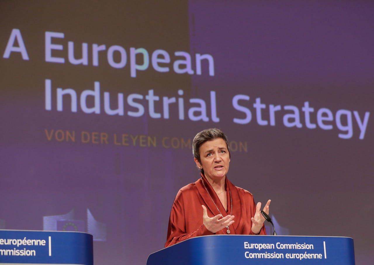 Eurocommissaris voor mededinging Margrethe Vestager