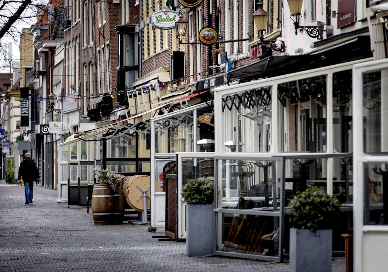 Gesloten horecazaken in Alkmaar.