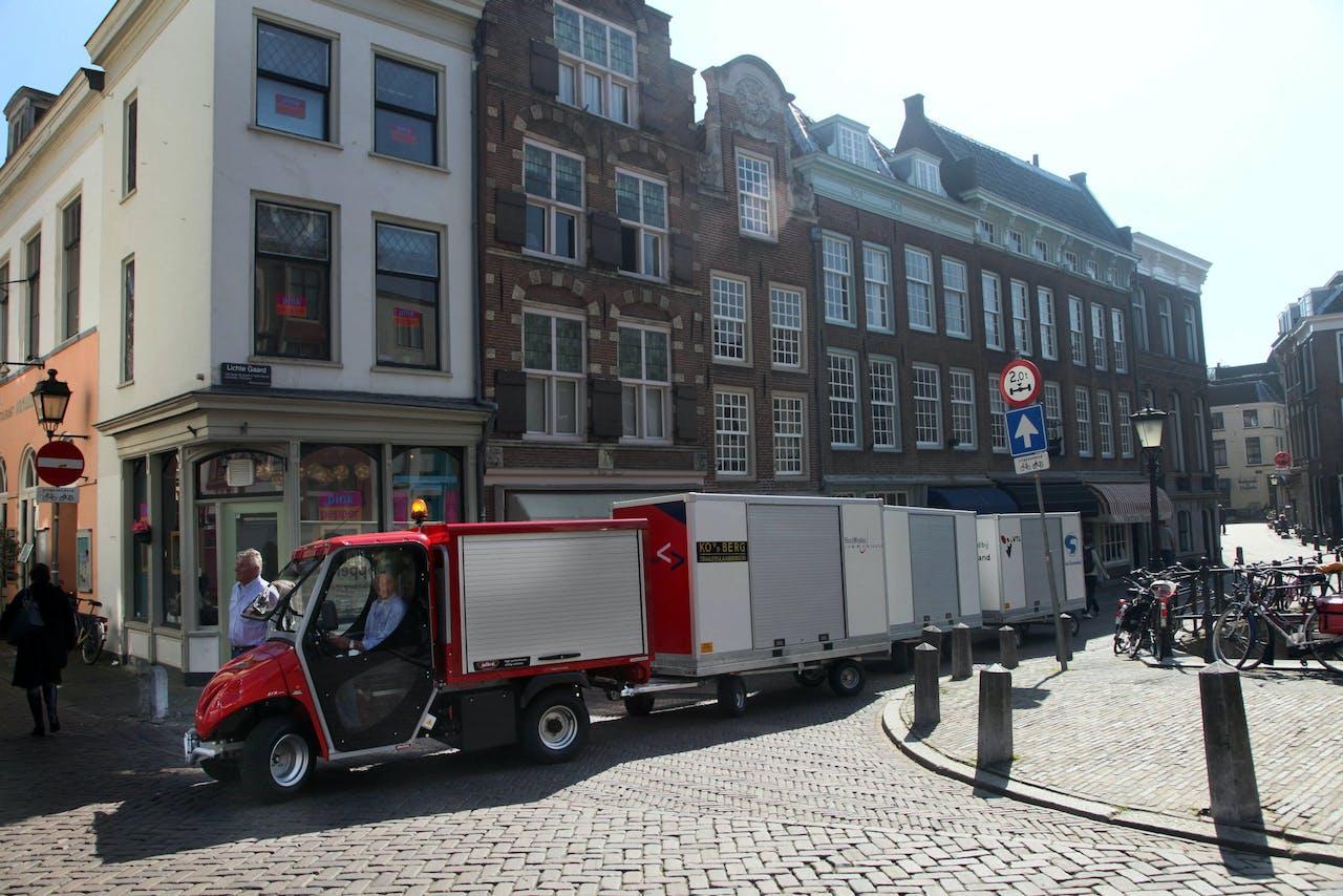 CityHopper is niet de enige die met elektrisch vervoer winkels bevoorraad. De elektrische Cargohopper rijdt al door onder meer de Utrechtse straten om winkelbevoorrading in de binnenstad verzorgen.