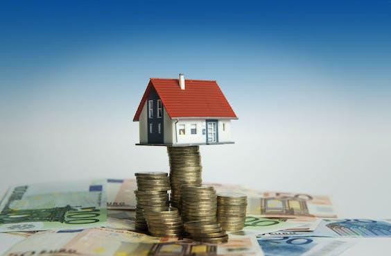 Illustratie huizenmarkt