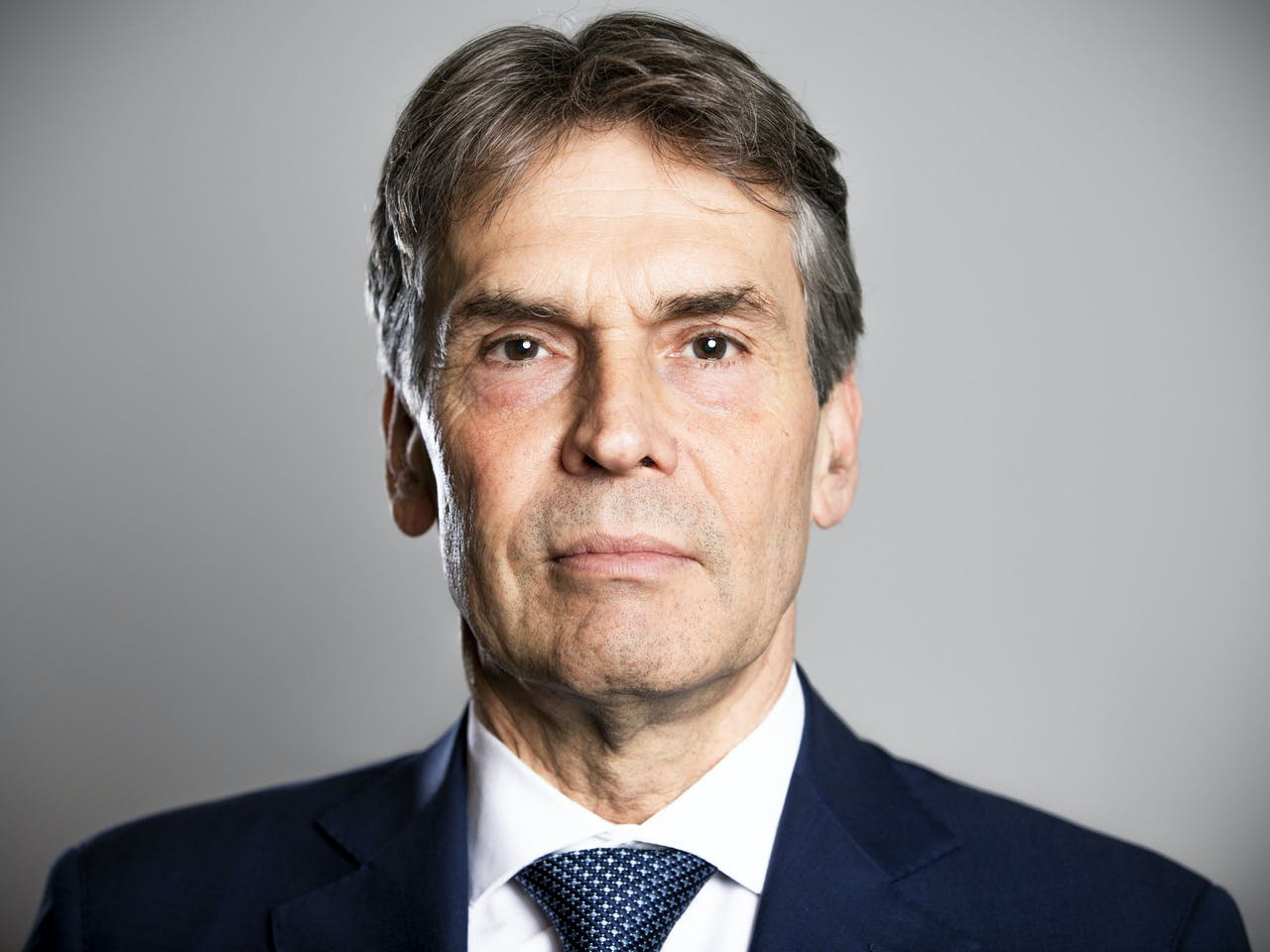 2018-11-20 17:10:25 ZOETERMEER - Dick Schoof het nieuwe hoofd van de AIVD. ANP FREEK VAN DEN BERGH