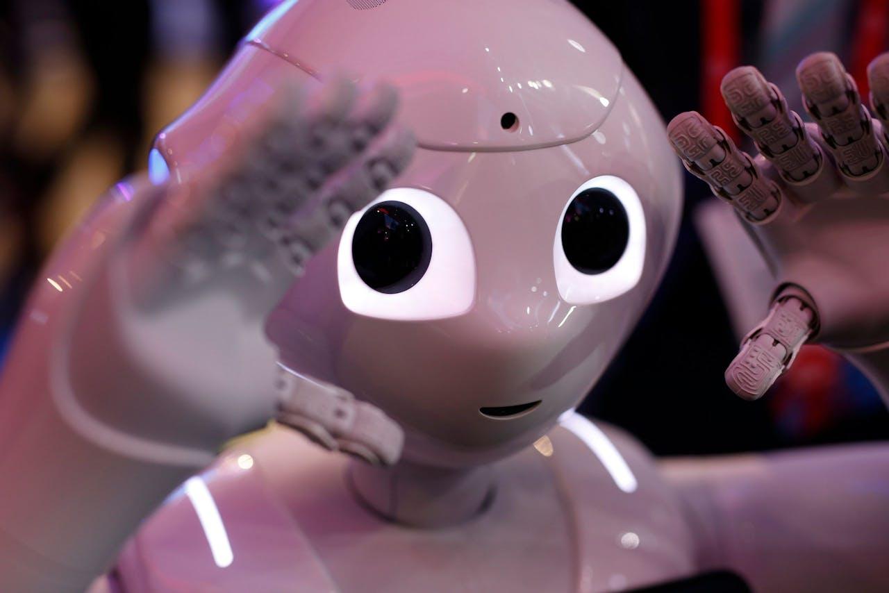 SoftBank Robotics robot 'Pepper'