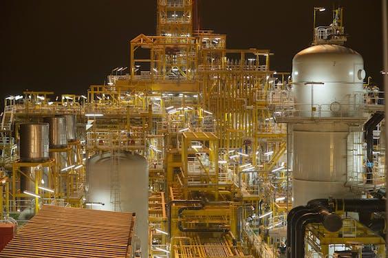 Een olietanker