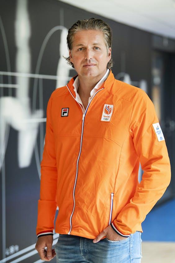Pieter van den Hoogenband, chef de mission van TeamNL