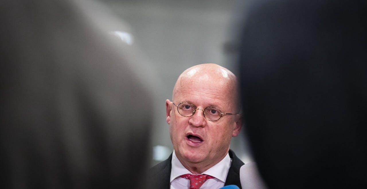 Demissionair minister Ferd Grapperhaus