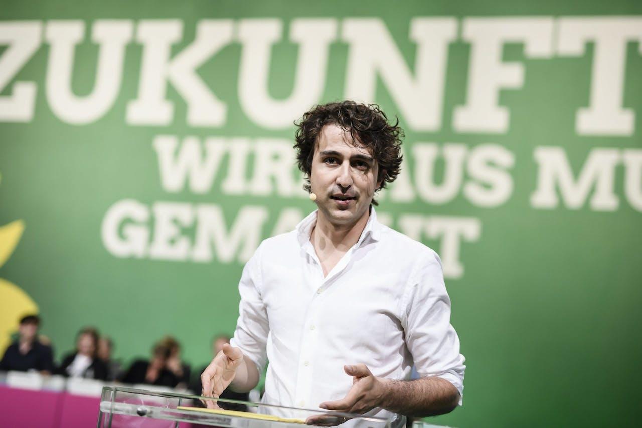 GroenLinks-voorman Jesse Klaver.