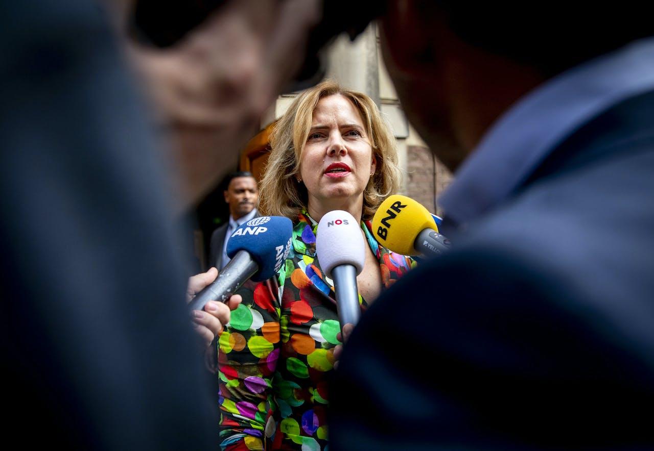 Cora van Nieuwenhuizen, minister van Infrastructuur en Waterstaat