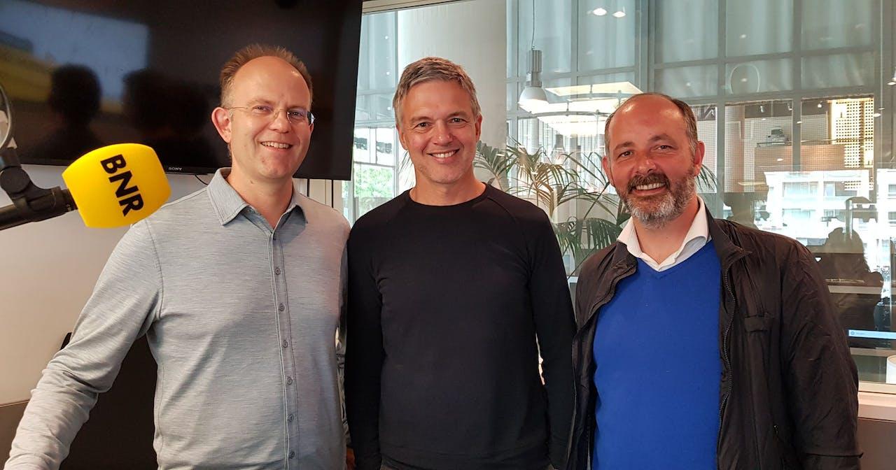 V.l.n.r.: Joris Smits, Paul Laseur en Marco Wiesehahn.