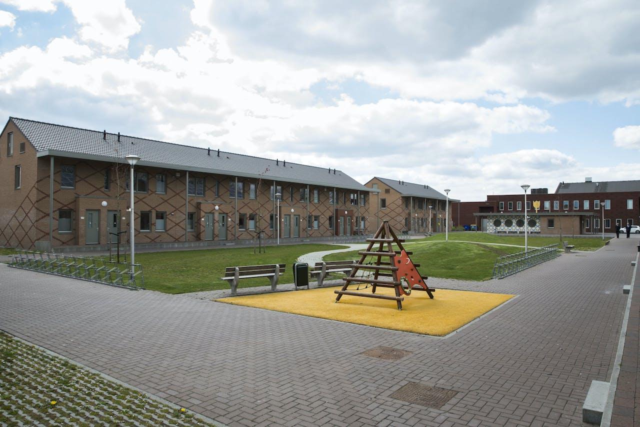 Het asielzoekerscentrum in Ter Apel.