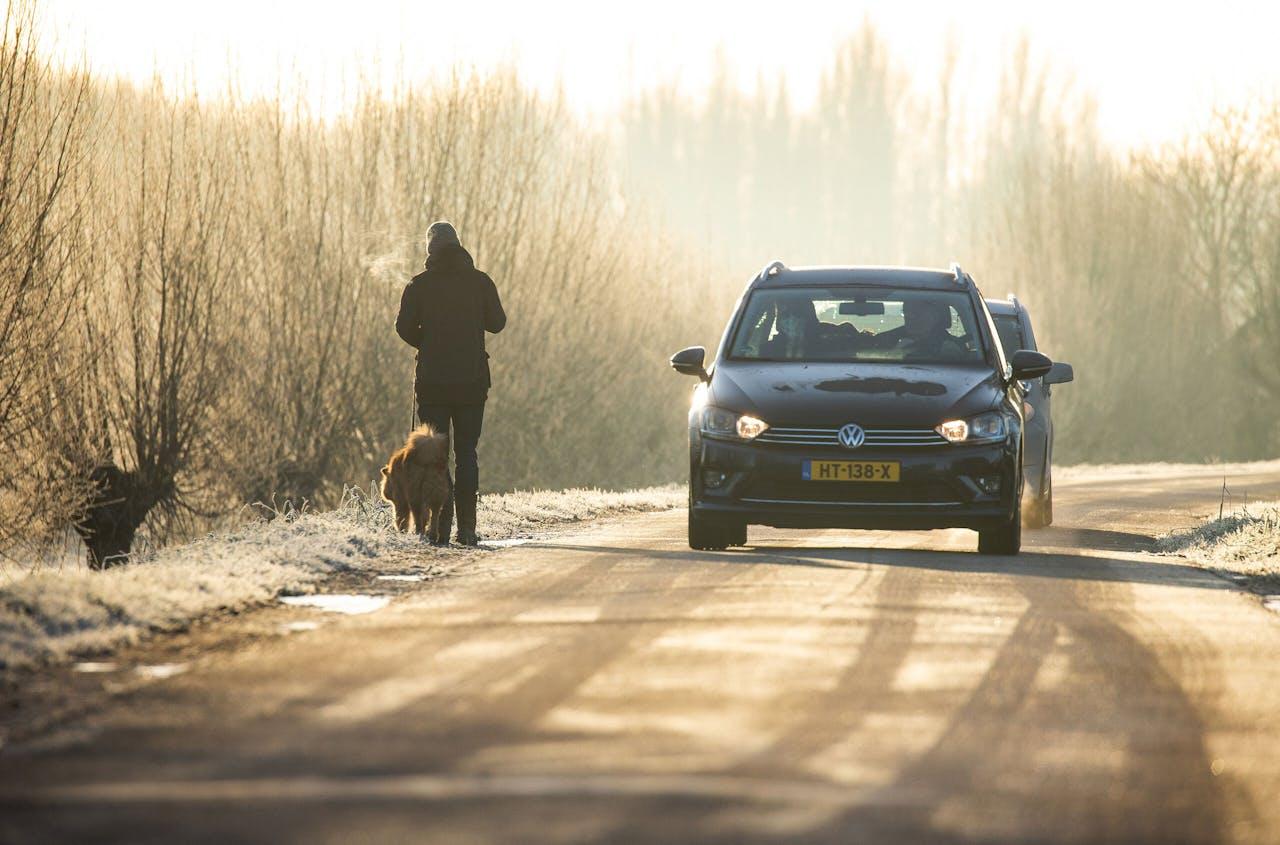 Gladheid en kou vanmorgen in grote delen van Nederland.