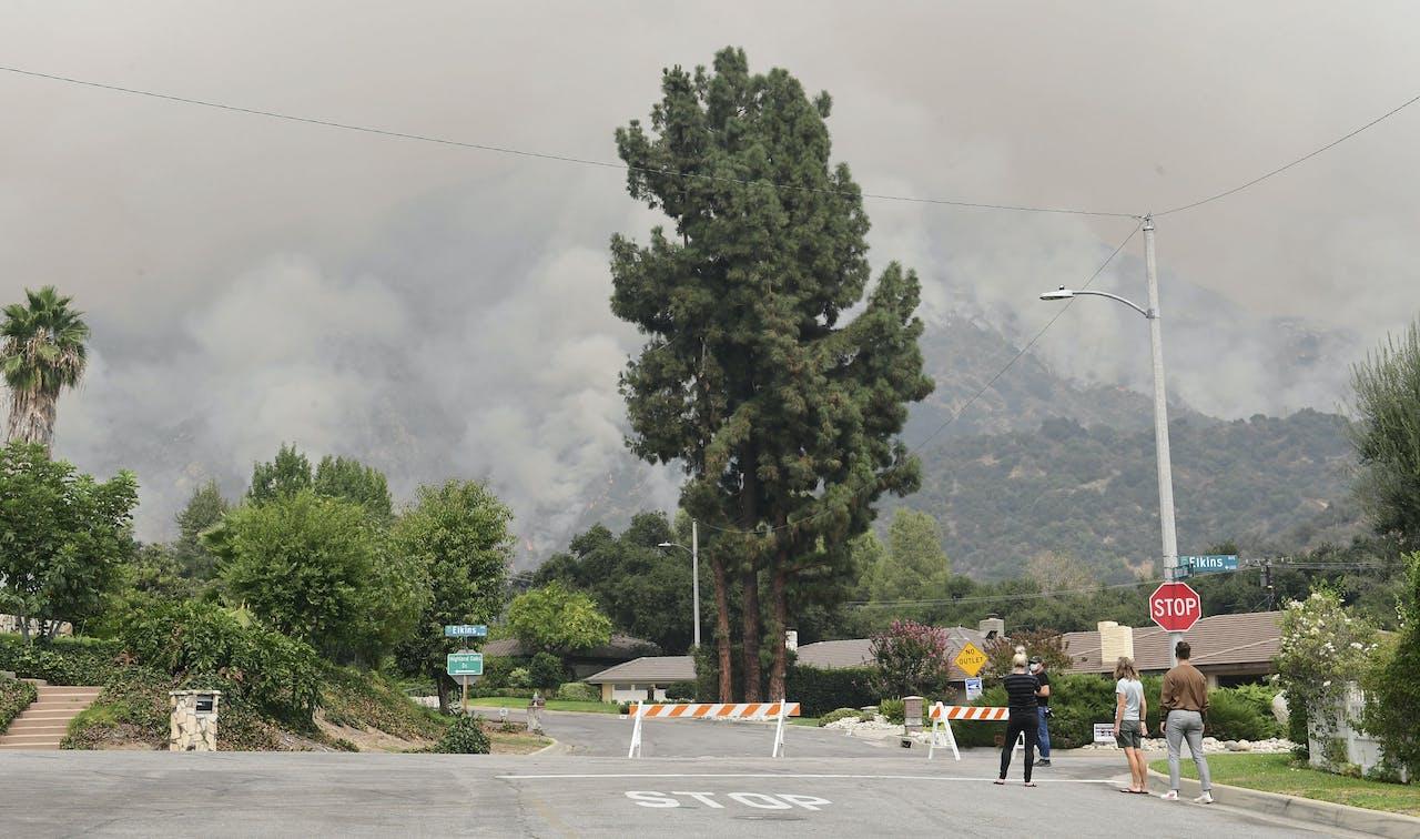 Bosbranden in Californië