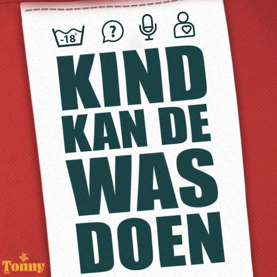 Kind kan de was doen, nummer 1 in de Dutch Podcast Top 20