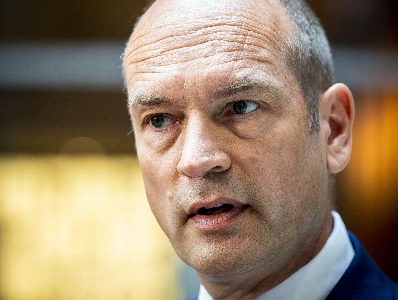 Fractievoorzitter Gert-Jan Segers (ChristenUnie) ziet nog geen visie in de plannen van het kabinet over het investeringsfonds.