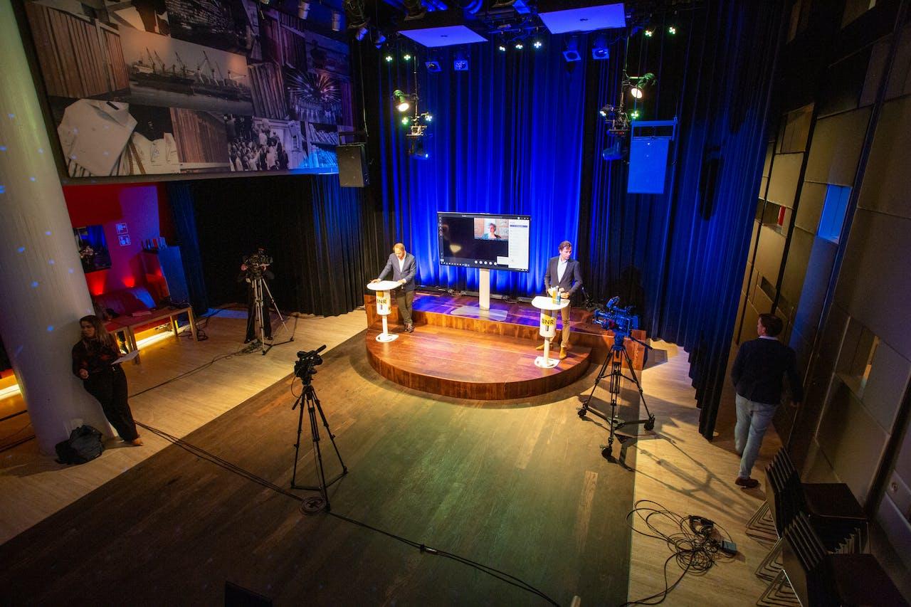 Arcadis won de prijs 'Spitsbreker van het Jaar' in een LIVE-radio-uitzending van BNR