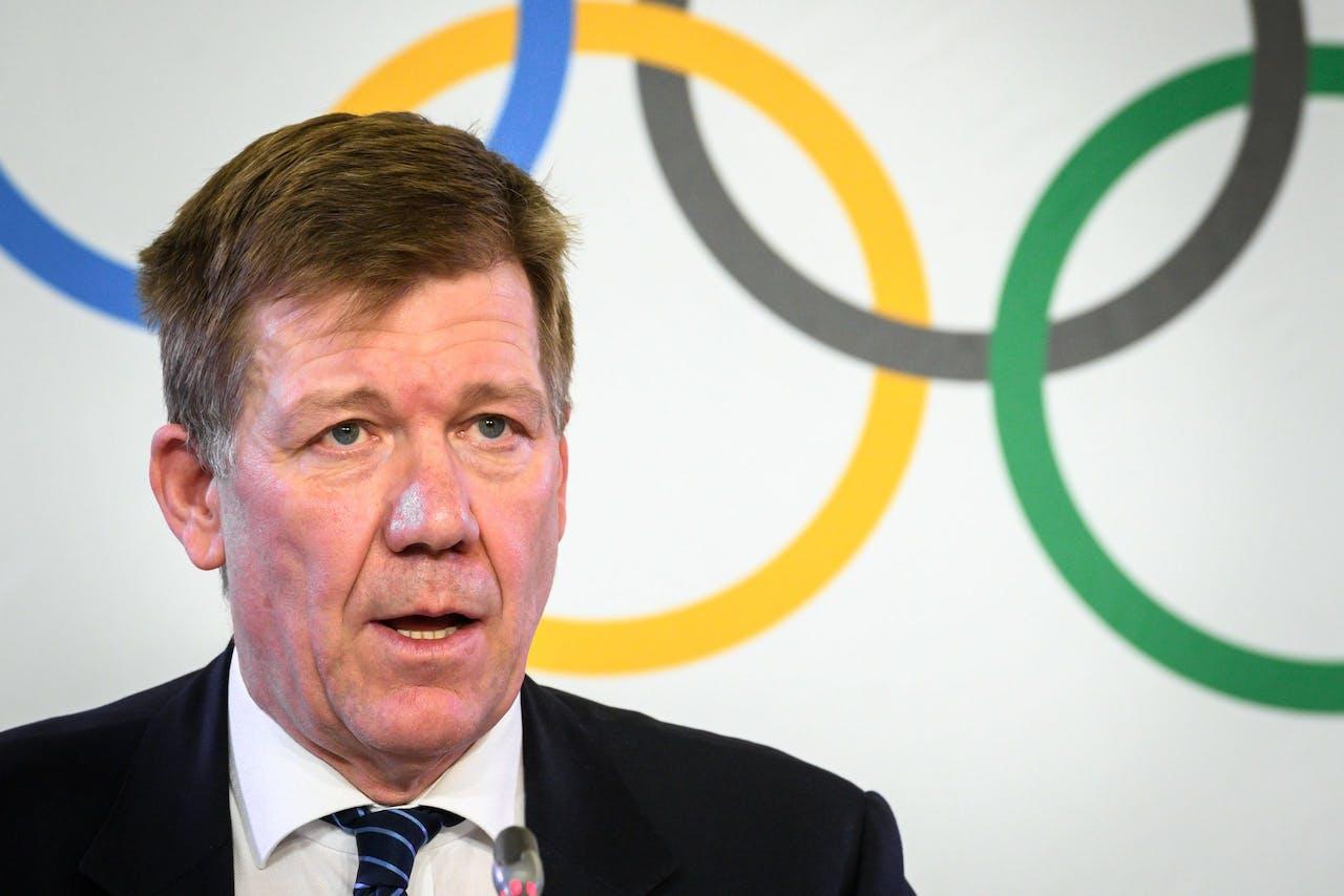 Directeur van International Olympic Committee (IOC) Richard Budgett deed de uitspraak