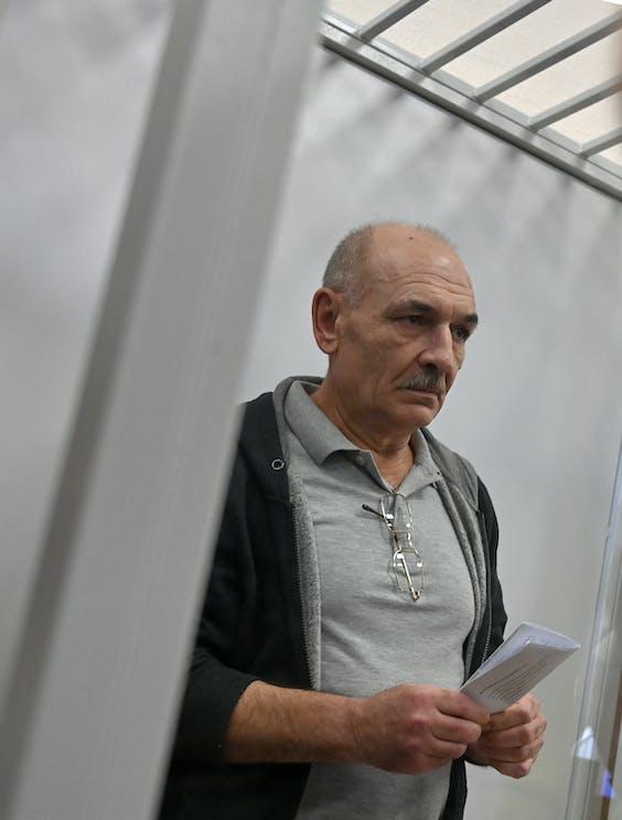 Vladimir Tsemakh, een Oekraiense verdachte.