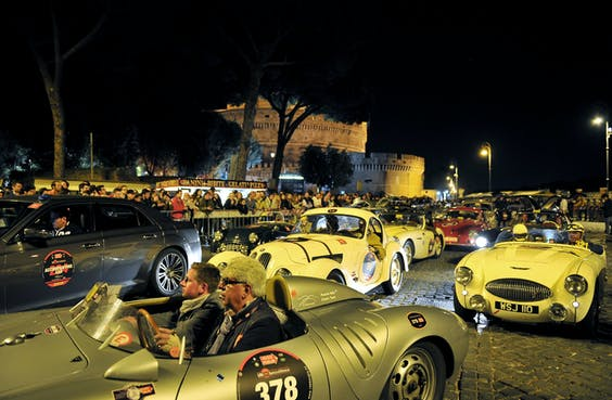 De Mille Miglia in Rome