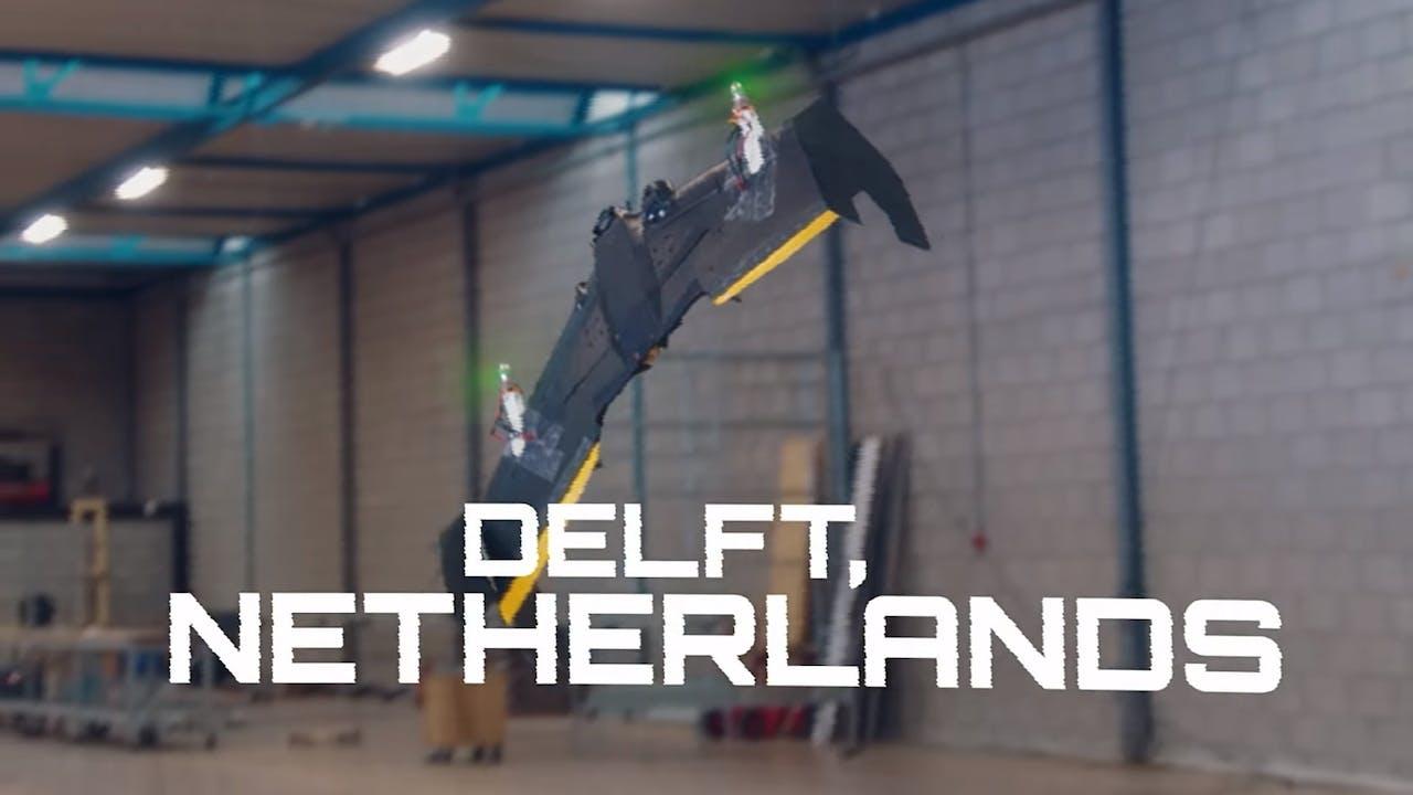 Het prototype van Team Silverwing uit Delft