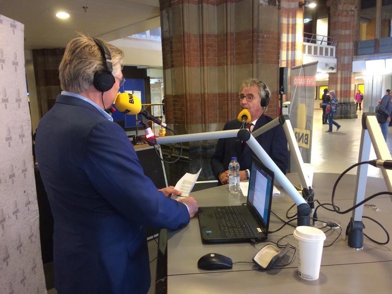 Roelof Hemmen & NS CEO Roger van Boxtel
