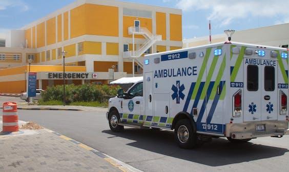 Het ziekenhuis op Curaçao