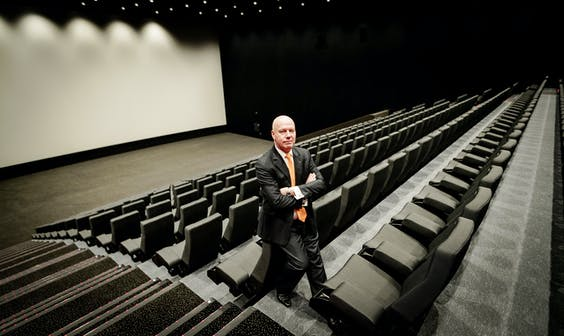 Portret Eddy Duquenne, CEO Kinepolis Group