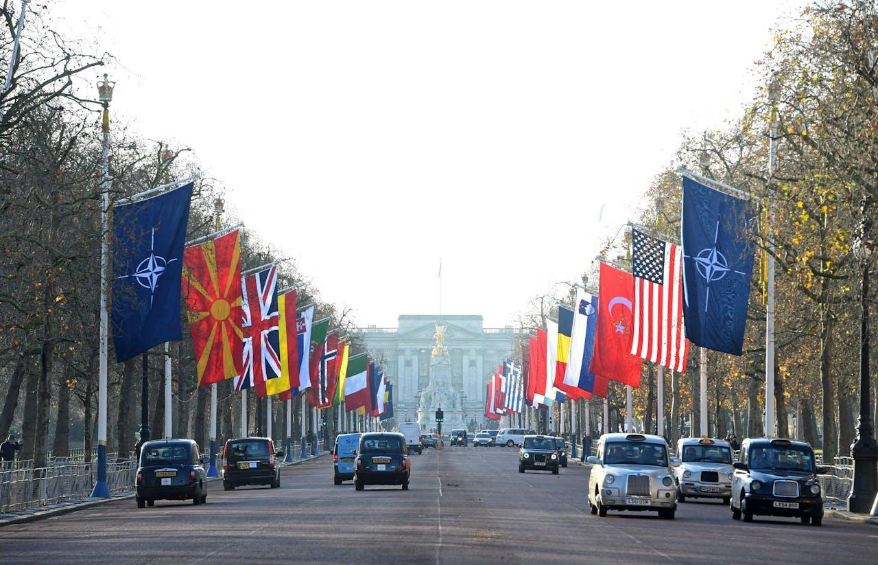 Londen maakt zich op voor de 'viering' van 70 jaar NAVO