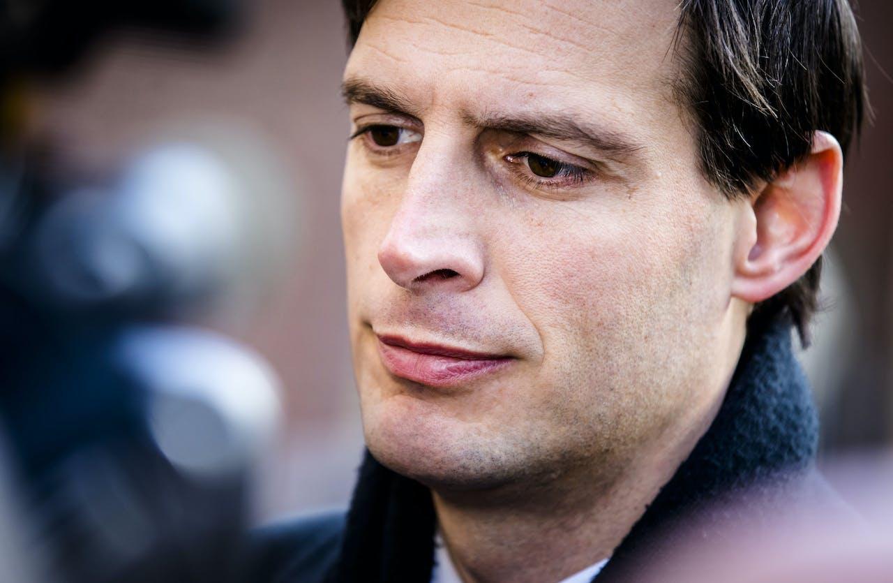 Minister Wopke Hoekstra van Financiën'n (CDA)