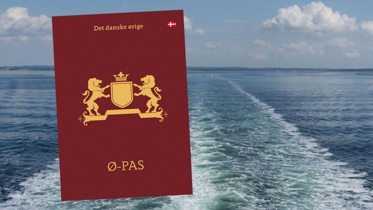 Het Deense stempelpaspoort Ø-pas, voor al uw Deense eilanden