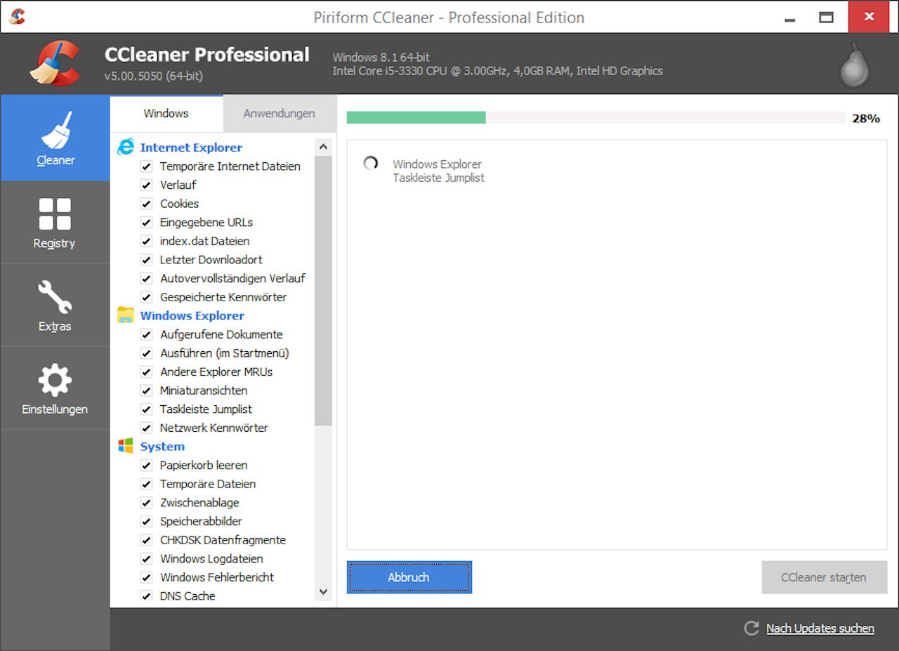 CCleaner. De malware zit in versie 5.33.
