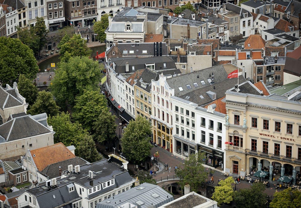 De binnenstad van Utrecht