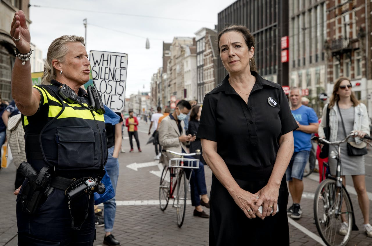 Burgemeester Femke Halsema