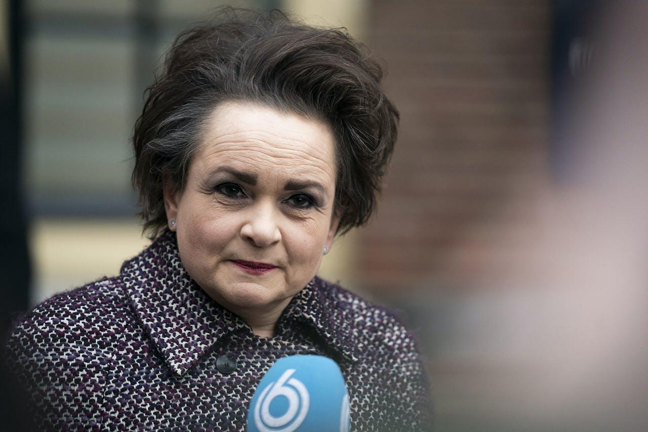 Staatssecretaris Alexandra van Huffelen (D66) van Financien - Toeslagen en Douanes.