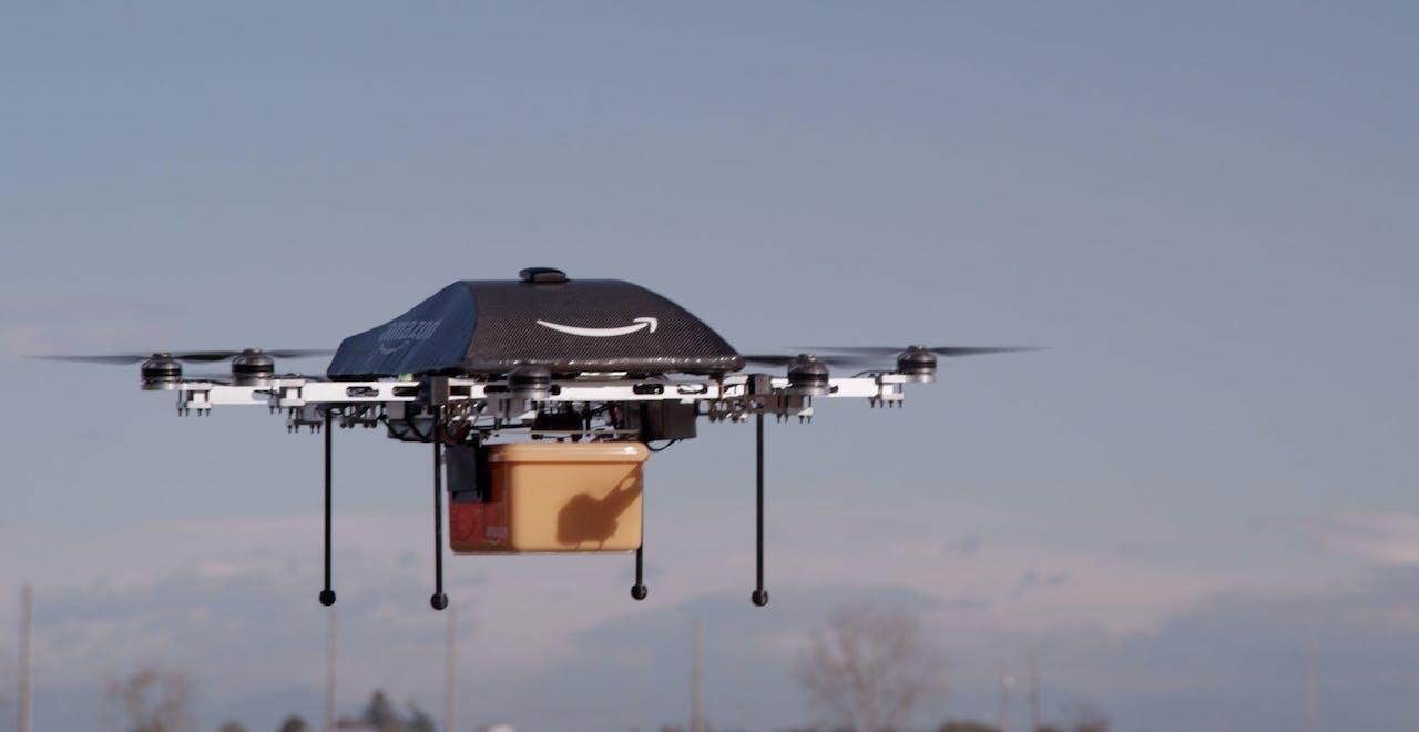 De drone van Amazon