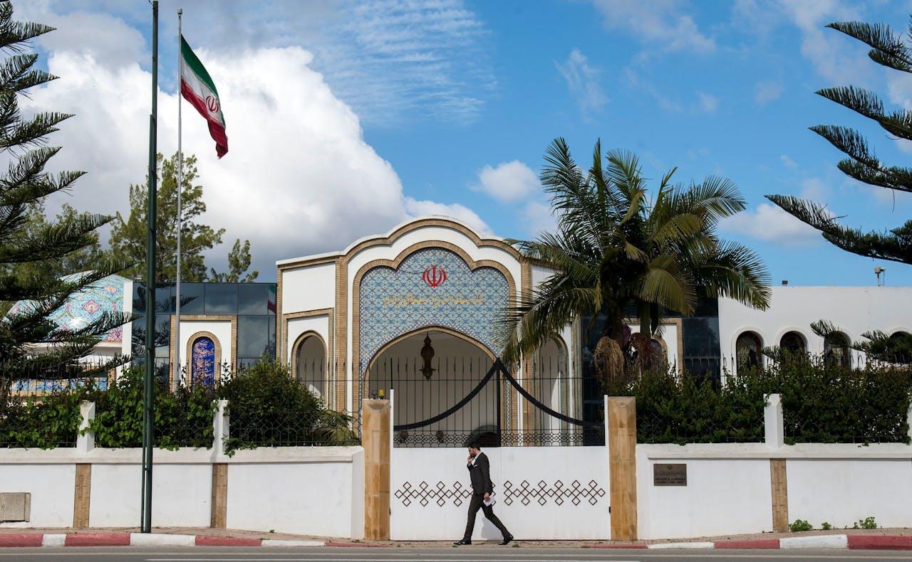 De Iraanse ambassadeur blijft voorlopig wel in Rabat