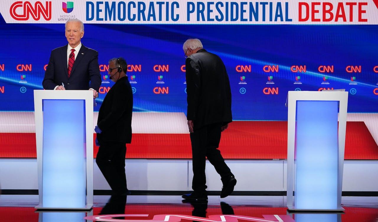 Joe Biden heeft het gewonnen van Bernie Sanders. Nu volgt de clash met Donald Trump.