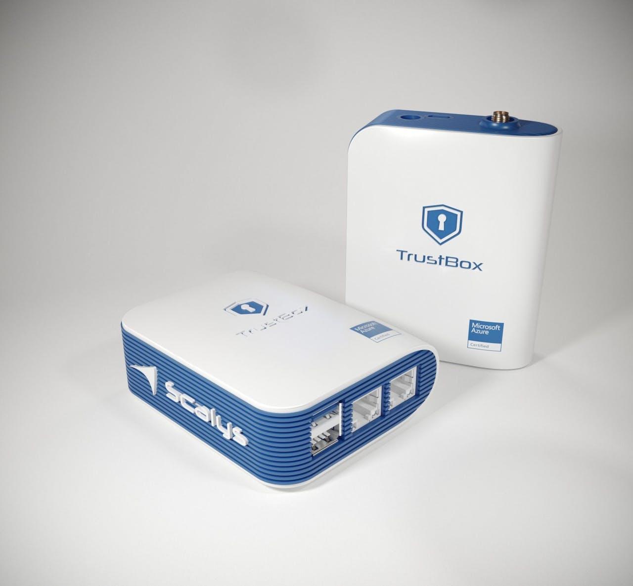 De TrustBox van Scalys viel op de CES in de prijzen