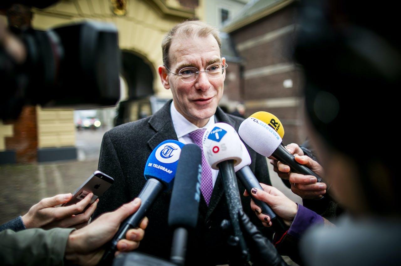 Menno Snel, staatssecretaris van Financiën