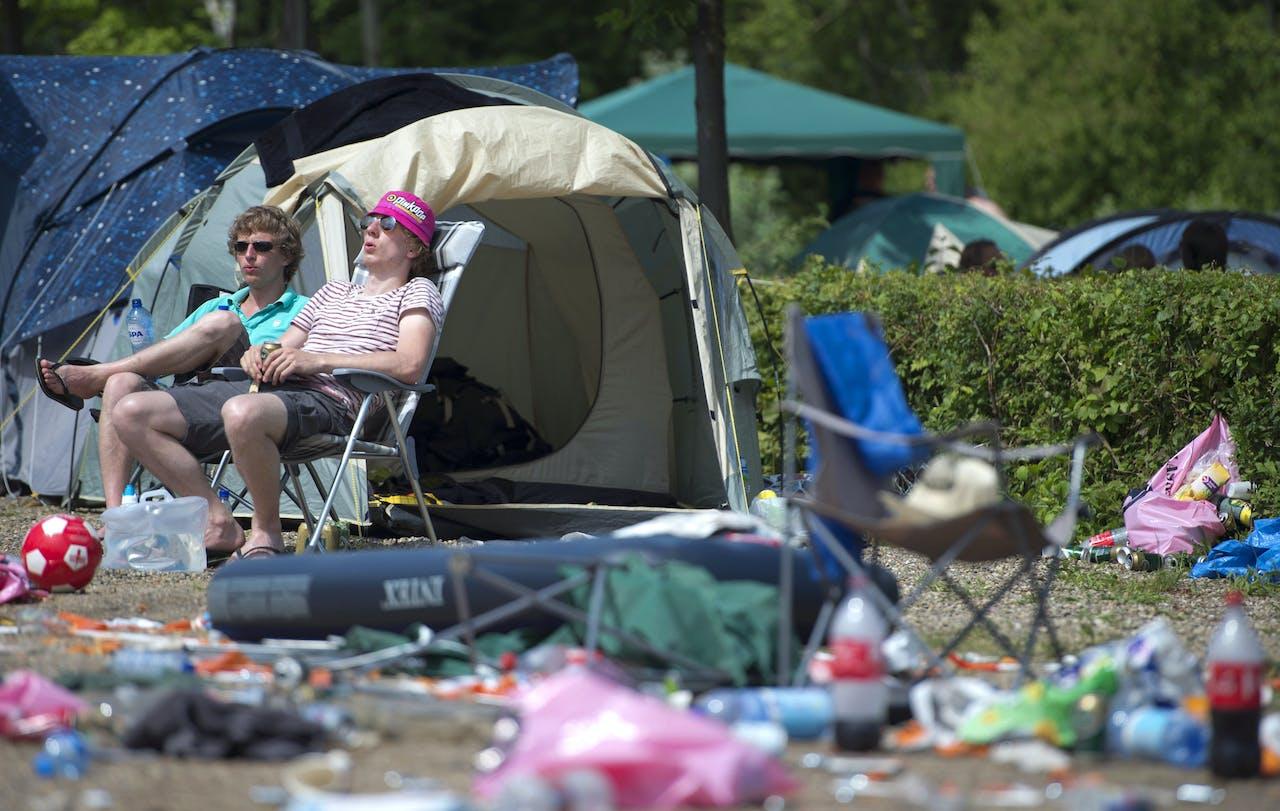 LANDGRAAF - sfeer camping.