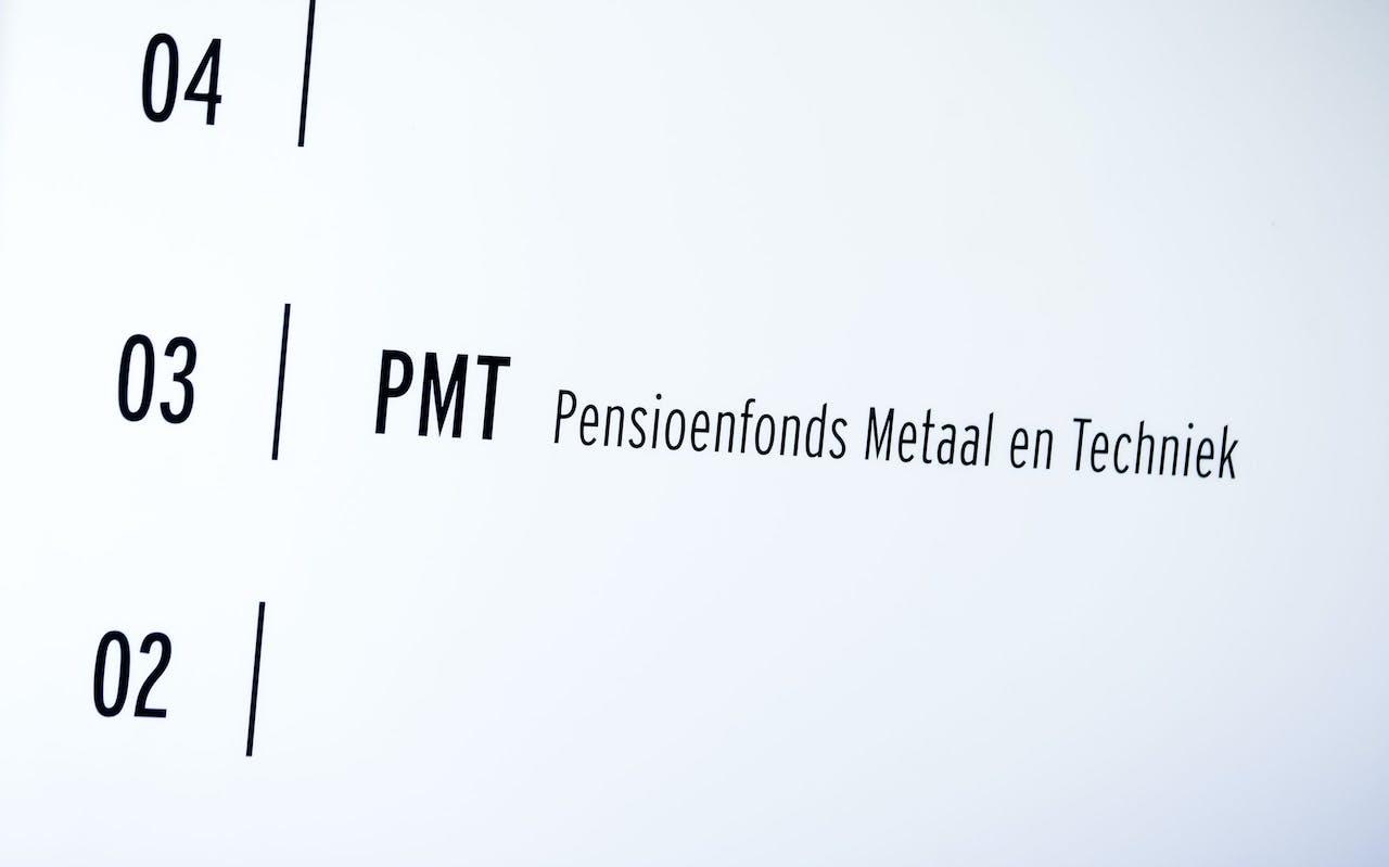 Logo van Pensioenfonds Metaal en Techniek.