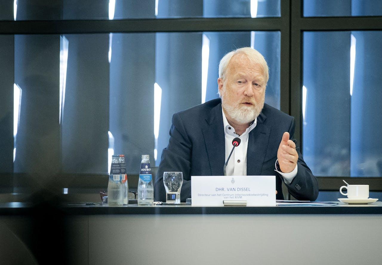Jaap van Dissel, directeur van het Centrum voor Infectieziektebestrijding van het RIVM