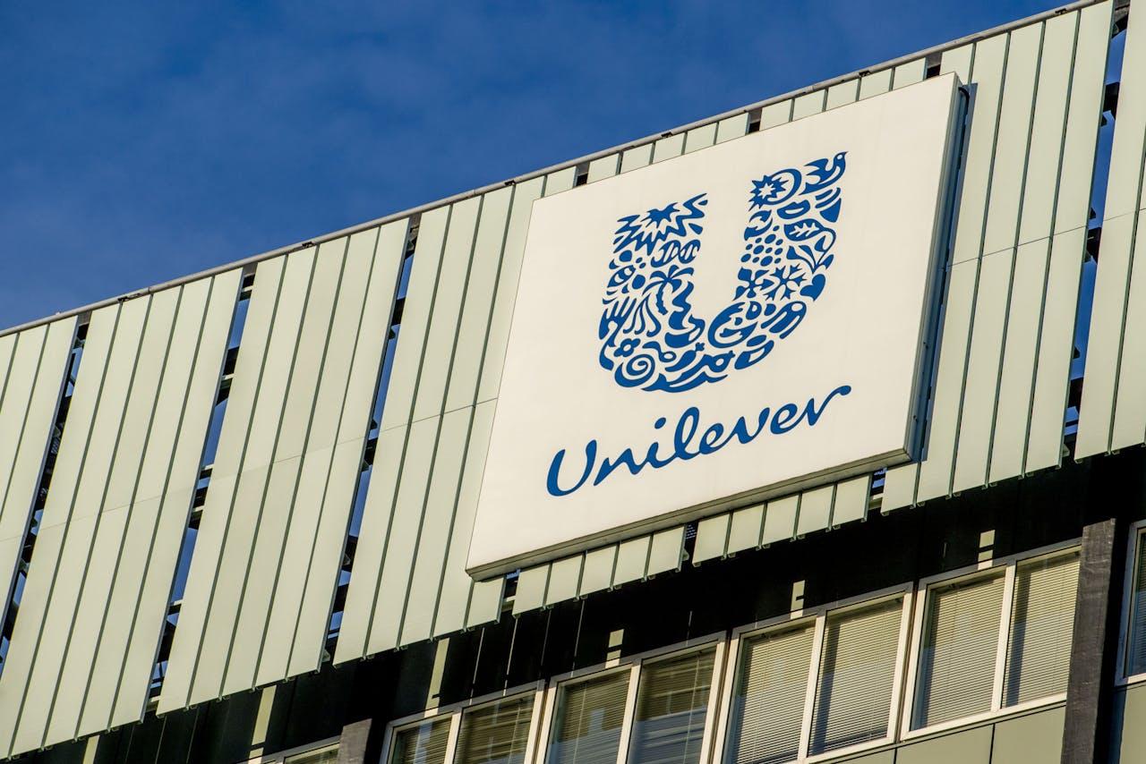 Exterieur Unilever in Rotterdam