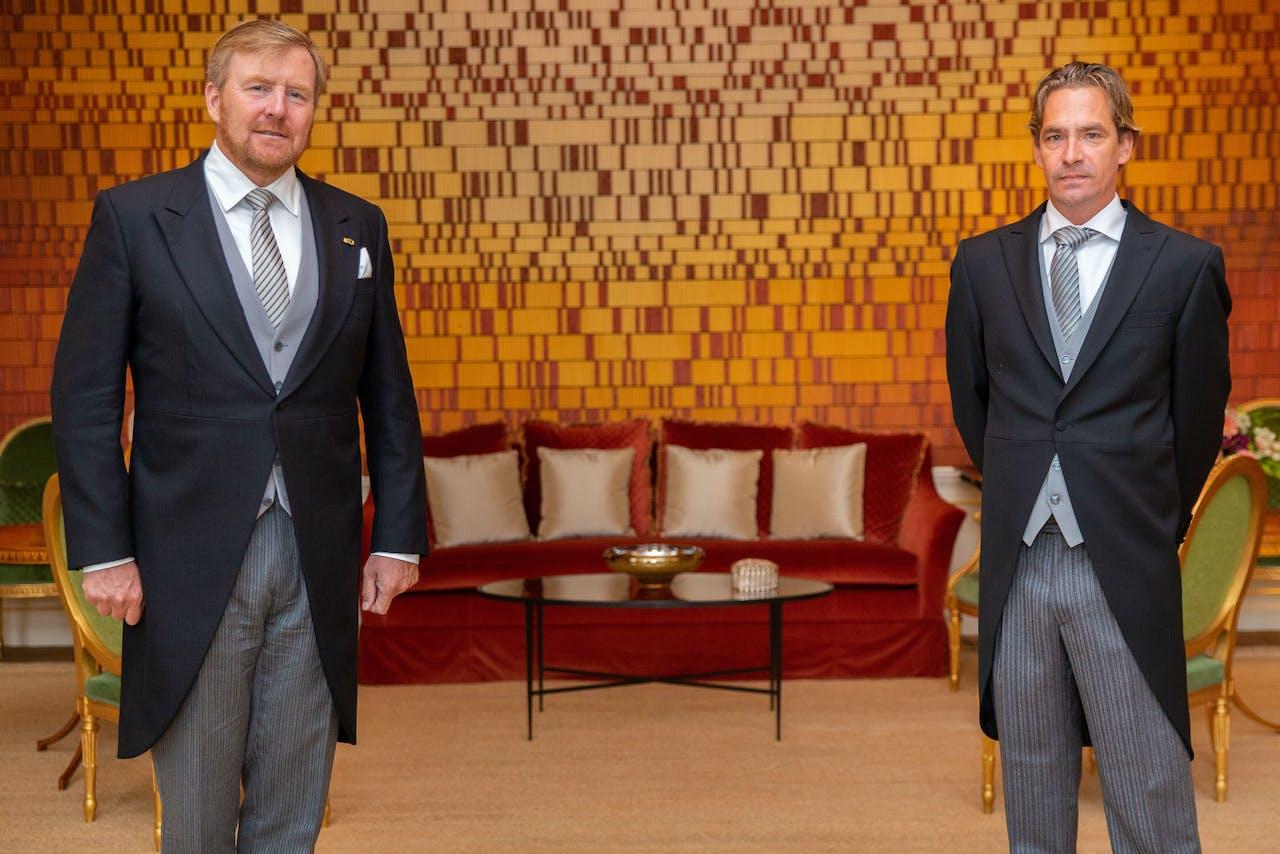 Koning Willem-Alexander benoemt Bas van 't Wout tot staatssecretaris van Sociale Zaken en Werkgelegenheid