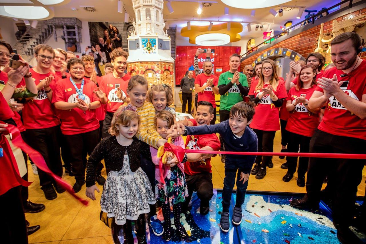 LEGO komt naar Amsterdam. Opening 29 november flagship store in de Kalverstraat.
