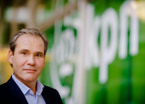 CEO Joost Farwerck van KPN