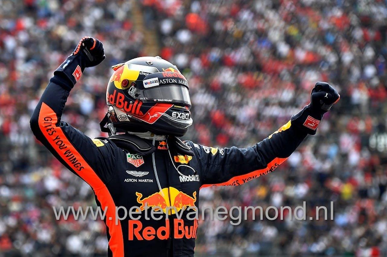 Max Verstappen wint de Grand Prix van Mexico