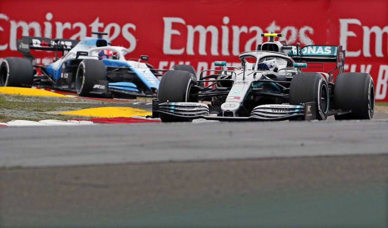 De Chinese Formule 1 Grand Prix op Shanghai International circuit, vorig jaar.