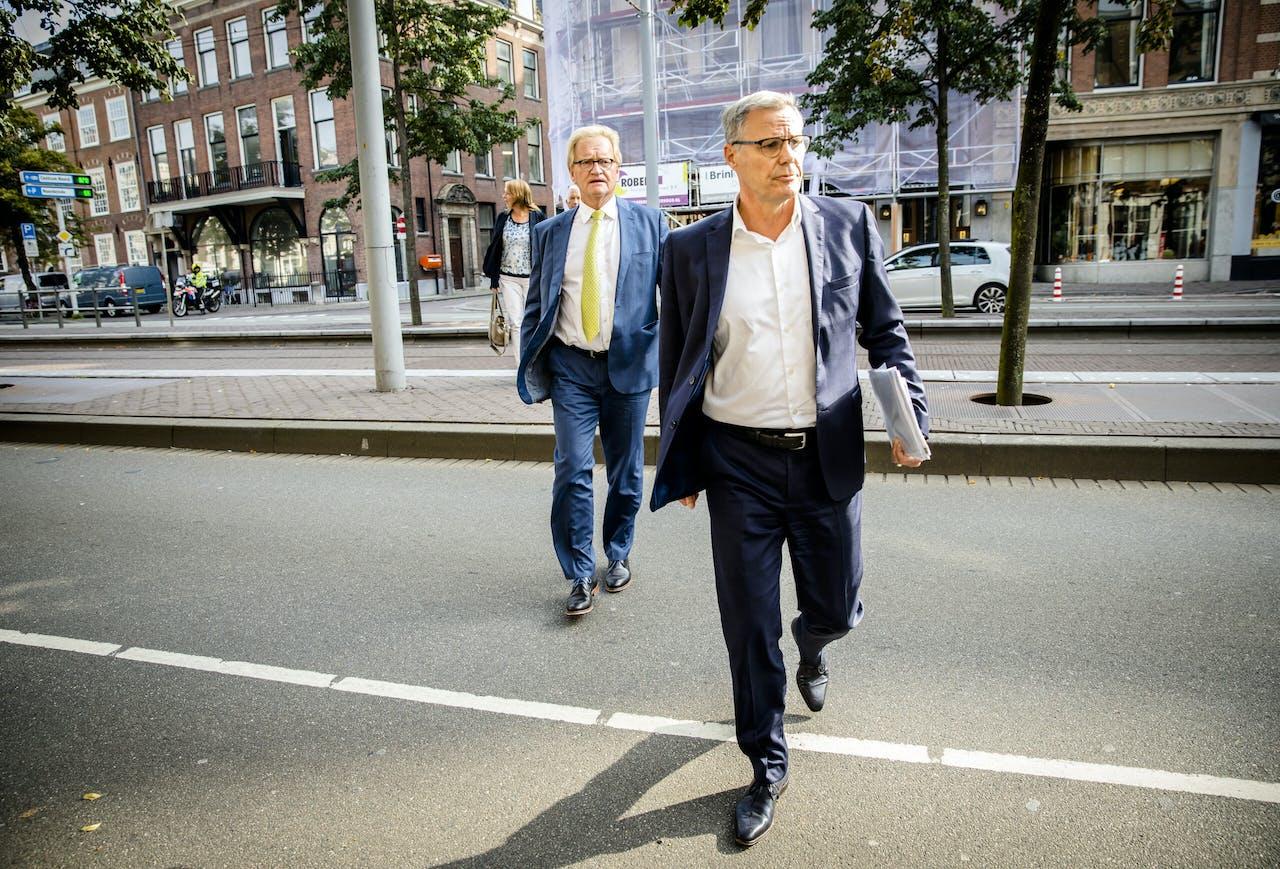 Hans de Boer en Han Busker.