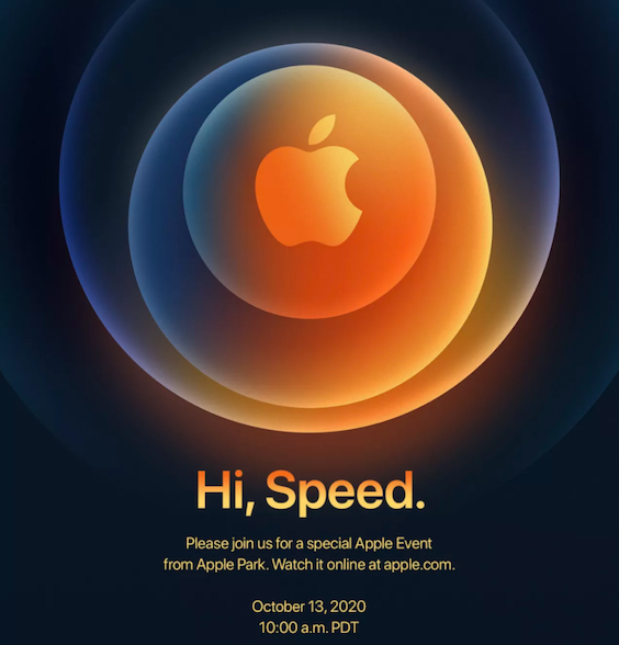 Apple Event op 13 oktober 2020