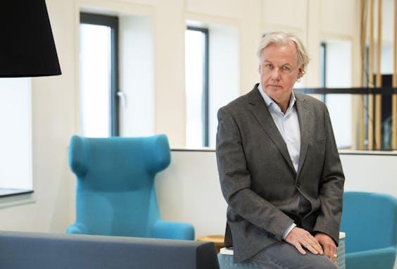 Hans André de la Porte, directeur van de Vereniging Eigen Huis .